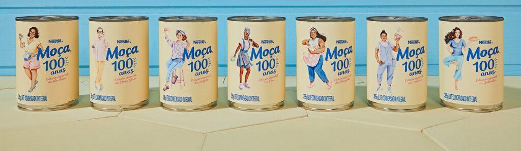 Leite Moça® troca a camponesa de suas latas